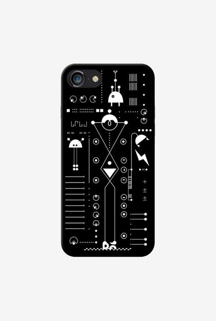 DailyObjects Cosmo Series Black Case For iPhone 7