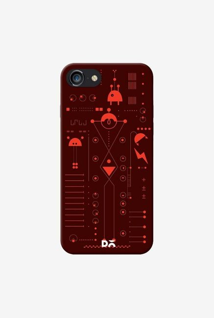 DailyObjects Cosmo Series Brown Case For iPhone 7