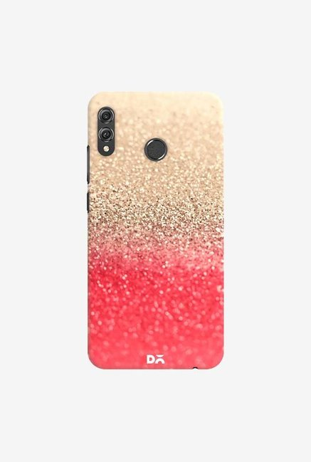 DailyObjects Gatsby Coral Gold Case Cover For Huawei Honor 8X