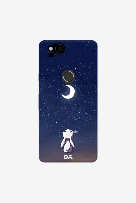 DailyObjects Moon Bunny Case Cover For Google Pixel 2