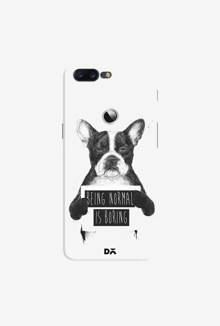 DailyObjects Being Normal Is Boring Case Cover For OnePlus 5T