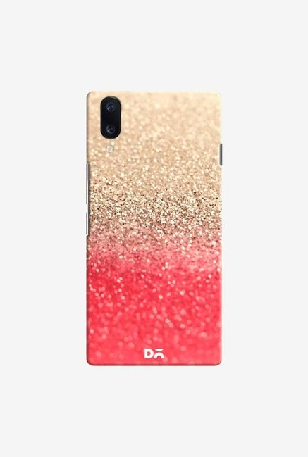 DailyObjects Gatsby Coral Gold Case Cover For Vivo V11 Pro