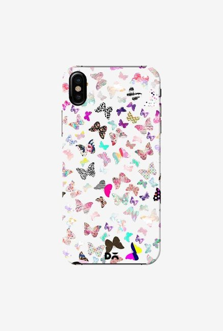 DailyObjects Butterfly Paradise Case Cover For iPhone XS