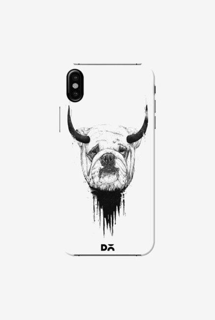DailyObjects Bull Dog Case Cover For iPhone XS