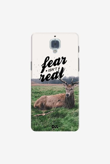 DailyObjects Fear Is Not Real Case Cover For OnePlus 3T