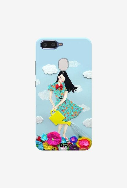 DailyObjects Girl In Flowerland Case Cover For Oppo F9