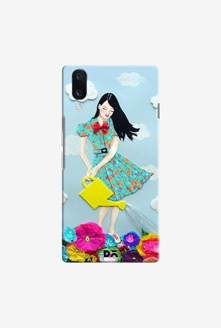 DailyObjects Girl In Flowerland Case Cover For Vivo V11 Pro
