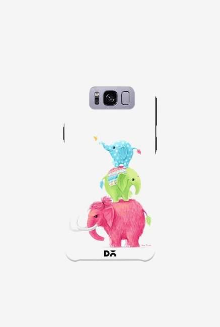 DailyObjects Candy Elephants Case For Samsung Galaxy S8 Plus