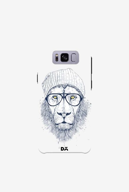 DailyObjects Cool Lion White Case For Samsung Galaxy S8 Plus