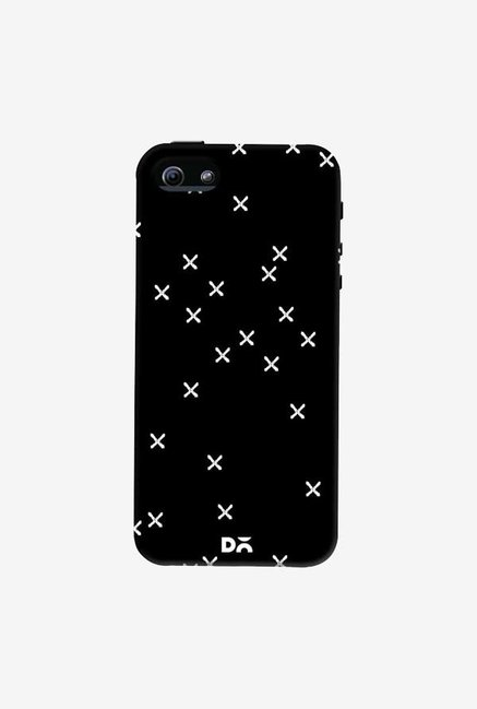 DailyObjects Crosses Black Case Cover For iPhone 5/5S
