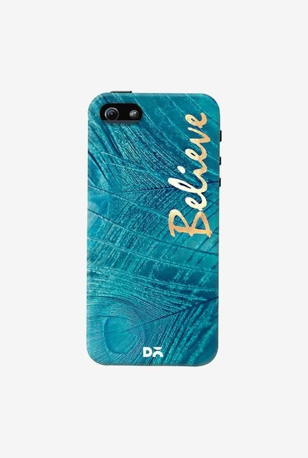 DailyObjects Believe In Aqua Case Cover For iPhone 5/5S