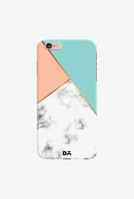 DailyObjects Marble Pink Green Case Cover For iPhone 6 Plus