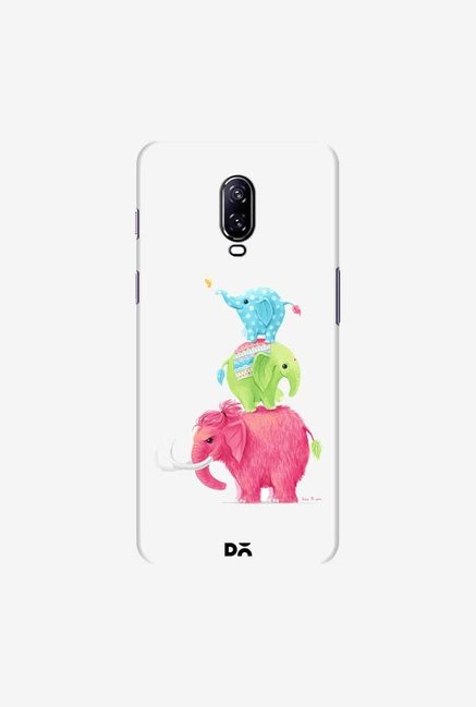 DailyObjects Candy Elephants Case Cover For OnePlus 6T