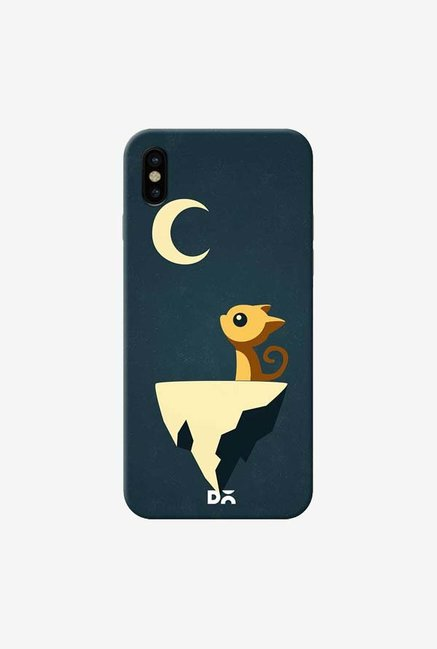 DailyObjects Moon Cat Case Cover For iPhone XS