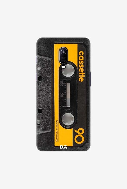 DailyObjects Cassette Yellow Case Cover For OnePlus 6T