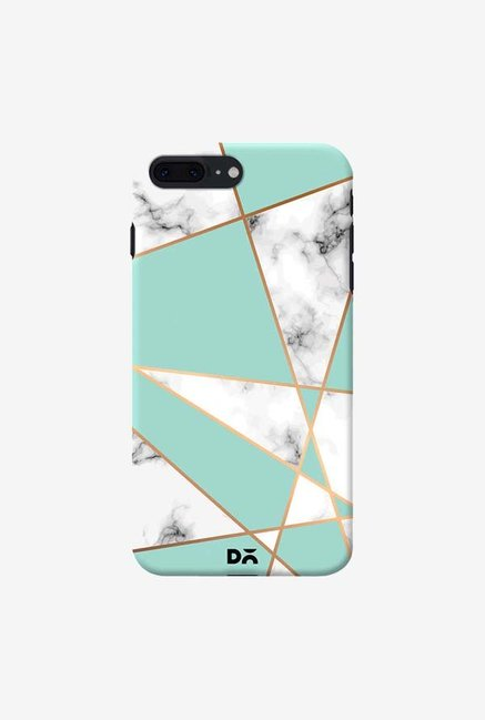 DailyObjects Marble Gold Stripe Case Cover For iPhone 8 Plus