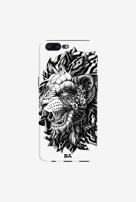 DailyObjects Ornate Lion Case Cover For OnePlus 5