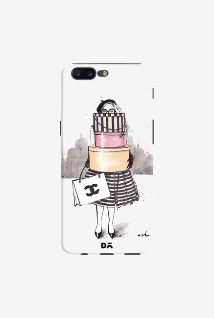 DailyObjects Shopping Junkie Case Cover For OnePlus 5