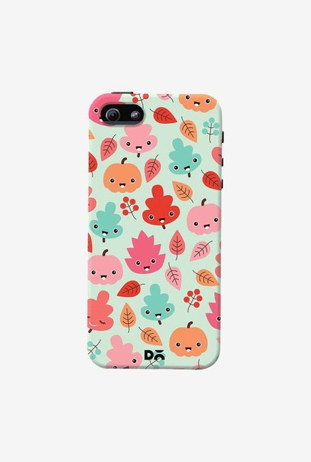DailyObjects Kawaii Leaves Case Cover For iPhone 5/5S