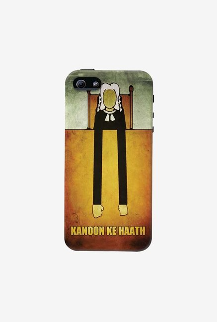 DailyObjects Kanoon Ke Haath Case For iPhone 5/5S