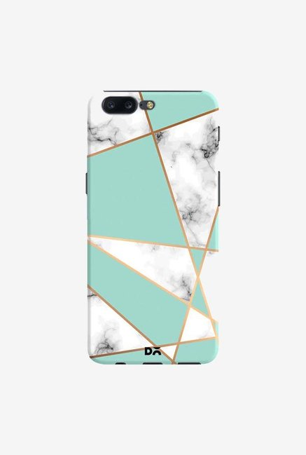 DailyObjects Marble Gold Stripe Case Cover For OnePlus 5