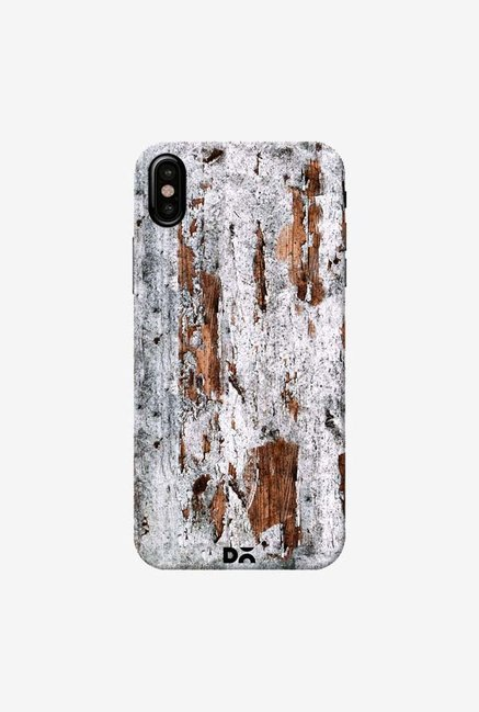 DailyObjects Naufragio Wood Case Cover For iPhone XS