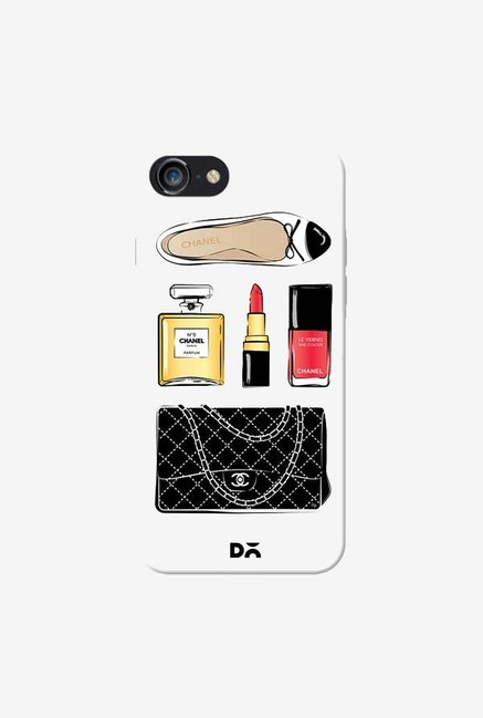 DailyObjects Chanel Case Cover For iPhone 8