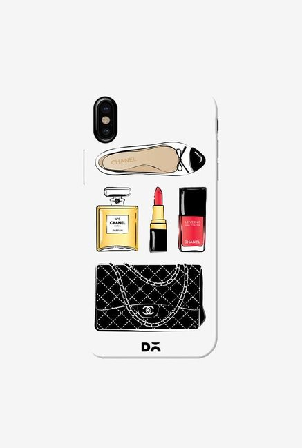 DailyObjects Chanel Case Cover For iPhone X