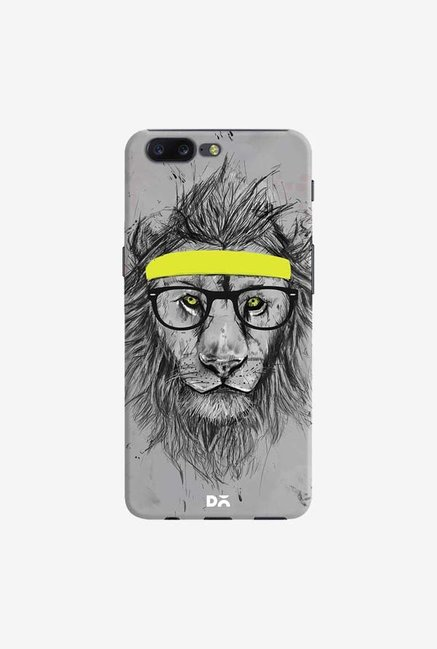 DailyObjects Hipster Lion Case Cover For OnePlus 5