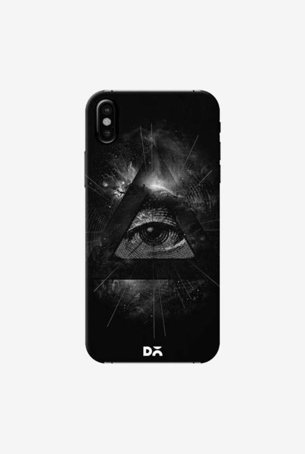 DailyObjects Eye In Triangle Case Cover For iPhone XS