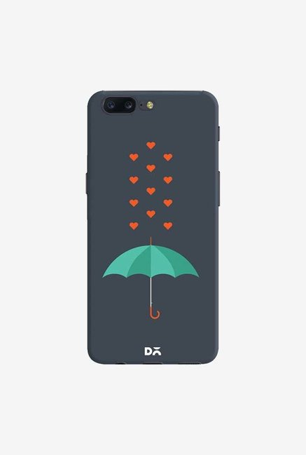 DailyObjects Its Raining Hearts Case Cover For OnePlus 5