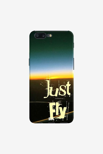DailyObjects Just Fly Case Cover For OnePlus 5