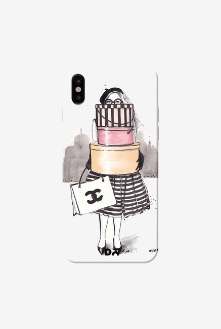 DailyObjects Shopping Junkie Case Cover For iPhone XS