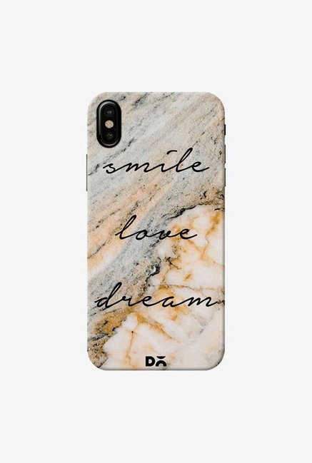 DailyObjects Smile Love Dream Case Cover For iPhone XS