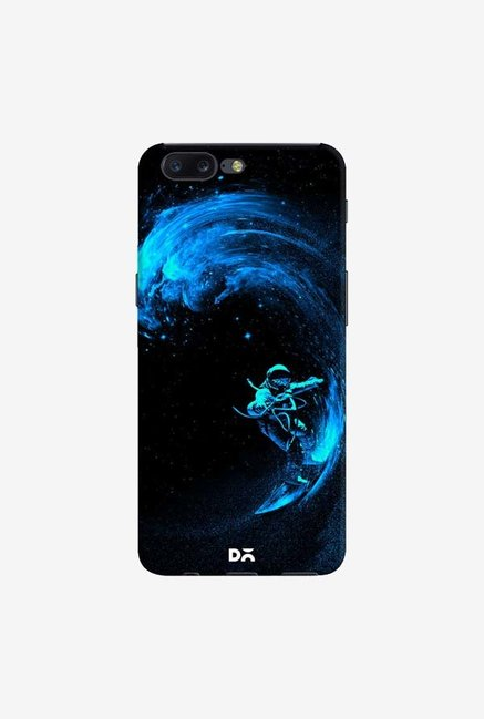 DailyObjects Space Surfing Blue Case Cover For OnePlus 5