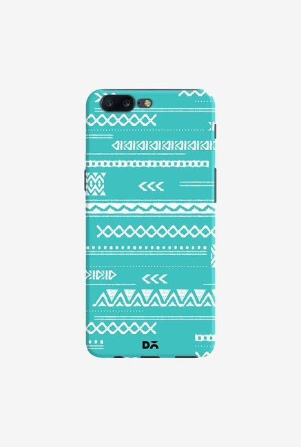 DailyObjects Modern Aztec Blue Case Cover For OnePlus 5
