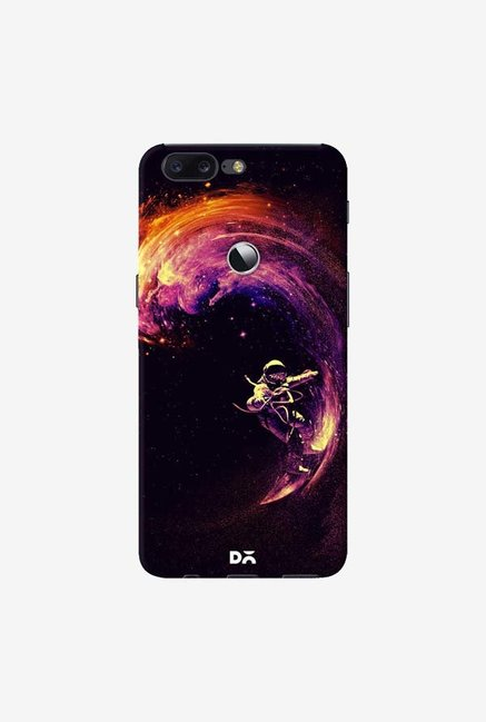 DailyObjects Space Surfing Case Cover For OnePlus 5T