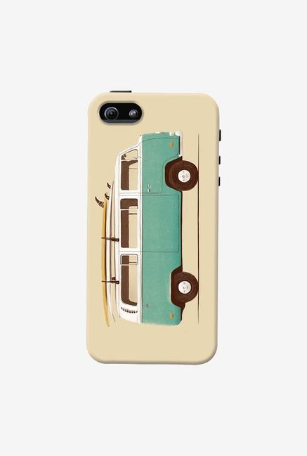 DailyObjects Green Van Case For iPhone 5/5S