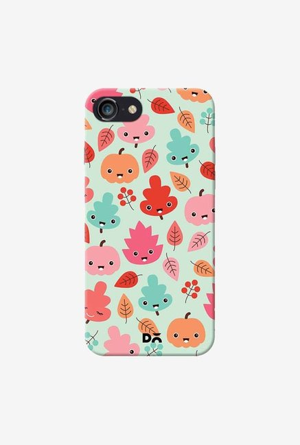 DailyObjects Kawaii Leaves Case Cover For iPhone 8