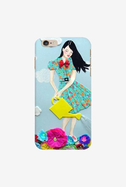 DailyObjects Girl In Flowerland Case For iPhone 6 Plus