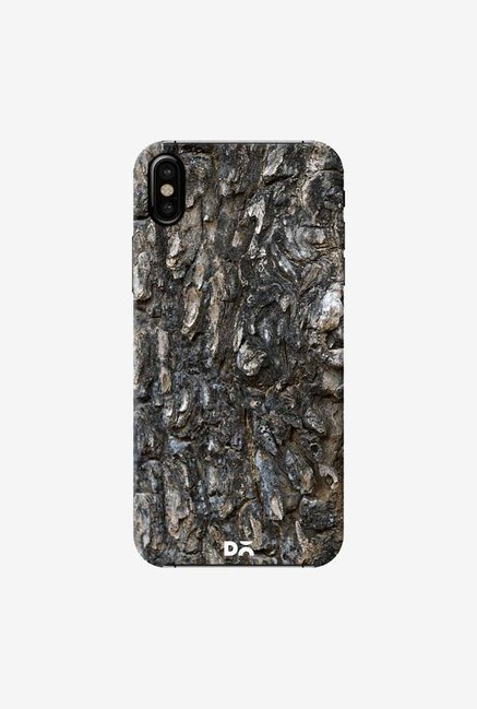DailyObjects Charred Wood Detail Case Cover For iPhone XS