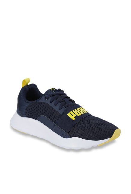 Buy Puma Kids Wired Jr Peacoat Running Shoes for Boys at