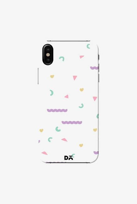 DailyObjects Chunky Geo Case Cover For iPhone XS