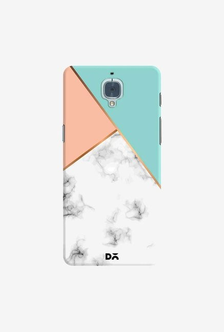 DailyObjects Marble Pink Green Case Cover For OnePlus 3T