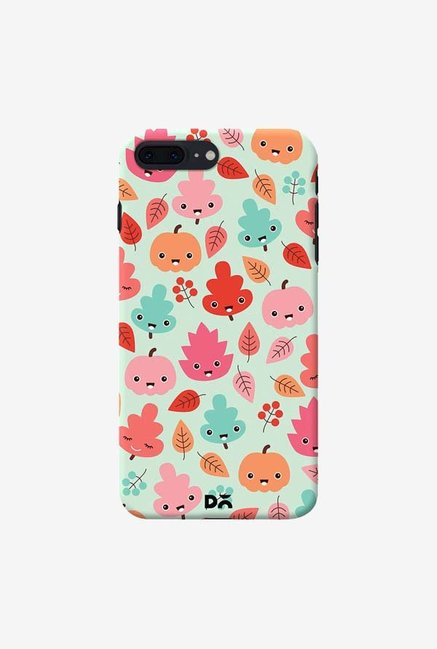 DailyObjects Kawaii Leaves Case Cover For iPhone 8 Plus