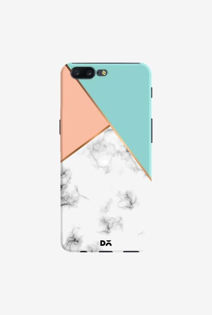 DailyObjects Marble Pink Green Case Cover For OnePlus 5