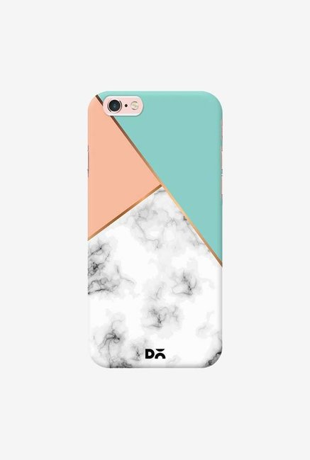 DailyObjects Marble Pink Green Case Cover For iPhone 6S