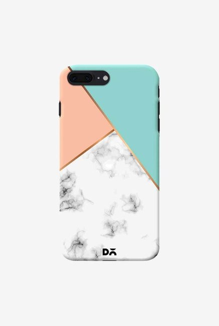 DailyObjects Marble Pink Green Case Cover For iPhone 8 Plus