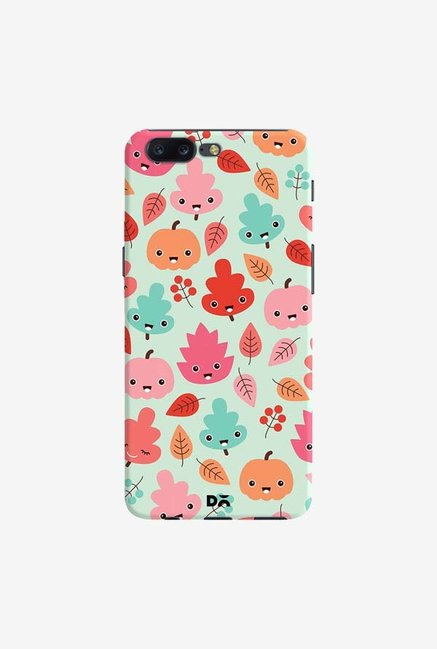 DailyObjects Kawaii Leaves Case Cover For OnePlus 5