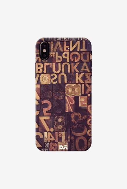 DailyObjects Typecase Case Cover For iPhone XS